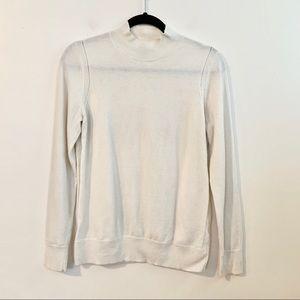 Banana Republic Factory Sweaters - BANANA REPUBLIC Ivory Mock Neck Sweater Small